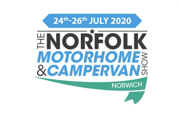 Warners shows Norfolk motorhome and campervan show, July 24th 2020